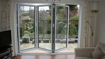 Franklin Double Glazing Aliminium Bi-Fold Doors
