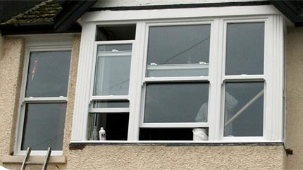 double glazed vertical sash windows