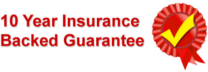 10 Year Insurance Backed Guarantee - Franklin & Sons Double Glazing