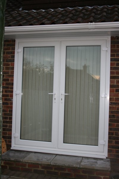 French patio doors for Double patio doors