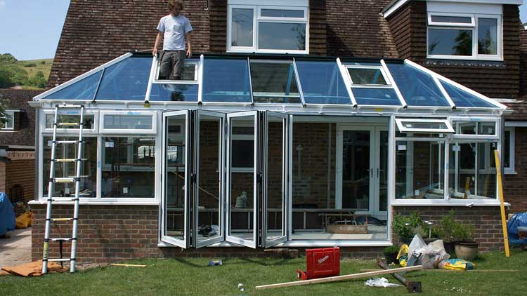 Why choose aluminium for Windows doors and conservatories